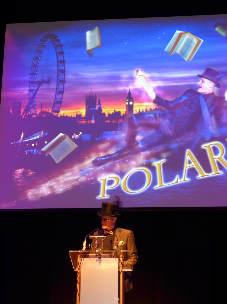 Host and Mr Polari Paul Burston.