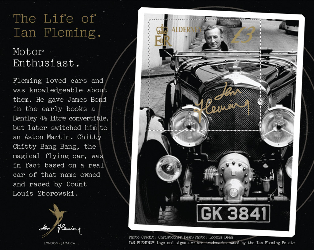 Ian Fleming Mini Sheet
